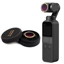 Optische Glas Linse Filter für DJI Osmo Tasche Vlog Filter Handheld Gimbal Objektiv Zubehör MCUV/CPL/ND/ ND PL Winkel Einstellbar