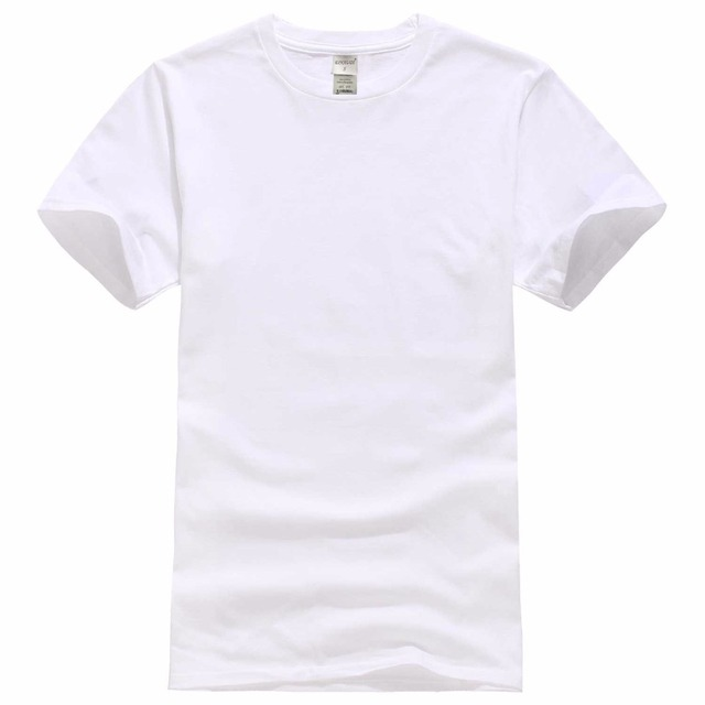 2018 New Solid color T Shirt Mens Black And White 100% cotton T-shirts Summer Skateboard Tee Boy Skate Tshirt Tops 1