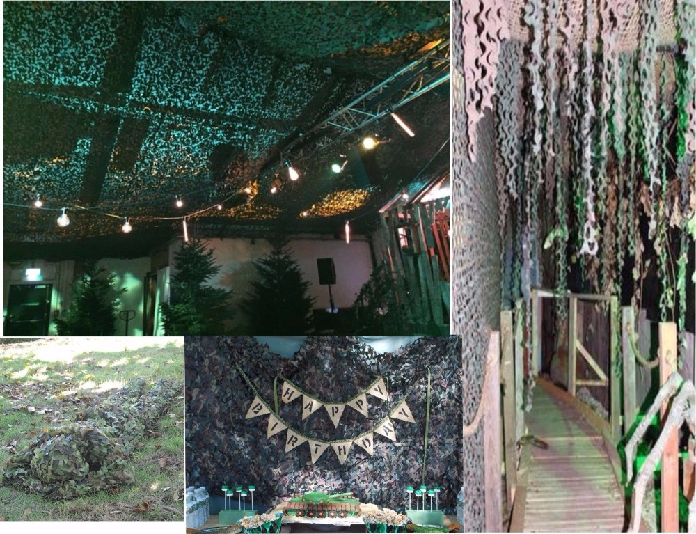 VILEAD 9 colors 4M*10M camouflage netting decoration camo net cover for beach tent military sun shelter portable car canopy