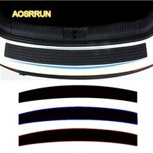 Aosrrun кремния багажник автомобиля для защиты резиновой ленты после предотвращения столкновений полоса автомобильные аксессуары для Nissan patril y62