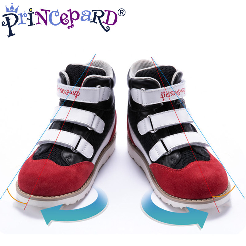 afeebe8736 Princepard New orthopedic shoes for kids Counter last Suitable for  inversion of the foot foot eversion