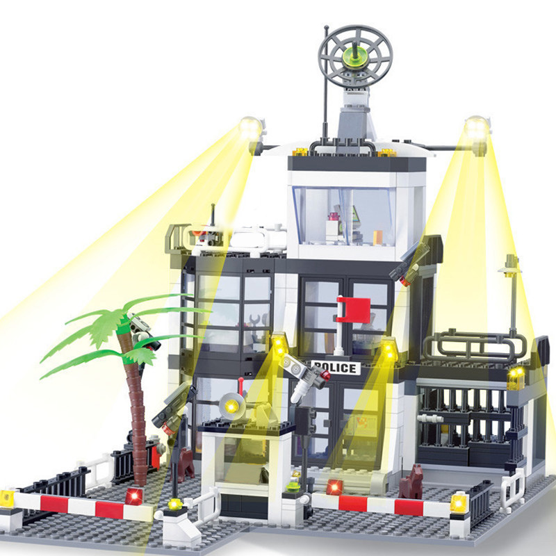 de construcao da cidade 3d modelo diy 02