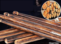 Professional Drum Sticks 5A/5B/7A Hickory Walnut Wood High Quality Drumsticks Musical Instruments Drum Sticks One Pair
