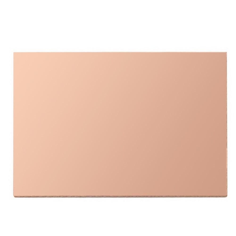 High Quality 10pcs/lot FR4 PCB Single Side Copper Clad DIY PCB Kit Laminate Circuit Board 70mm * 100mm * 1.5mm universal single sided pcb copper clad board for diy 10 piece pack