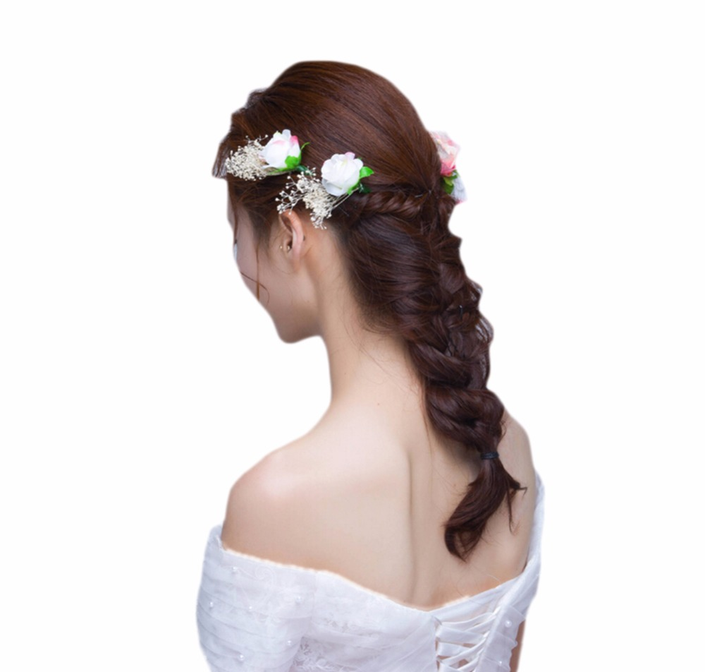 Lacontrie Amazing Bohemia Flower Hair Clip for Womens Hairpin Bridal ...