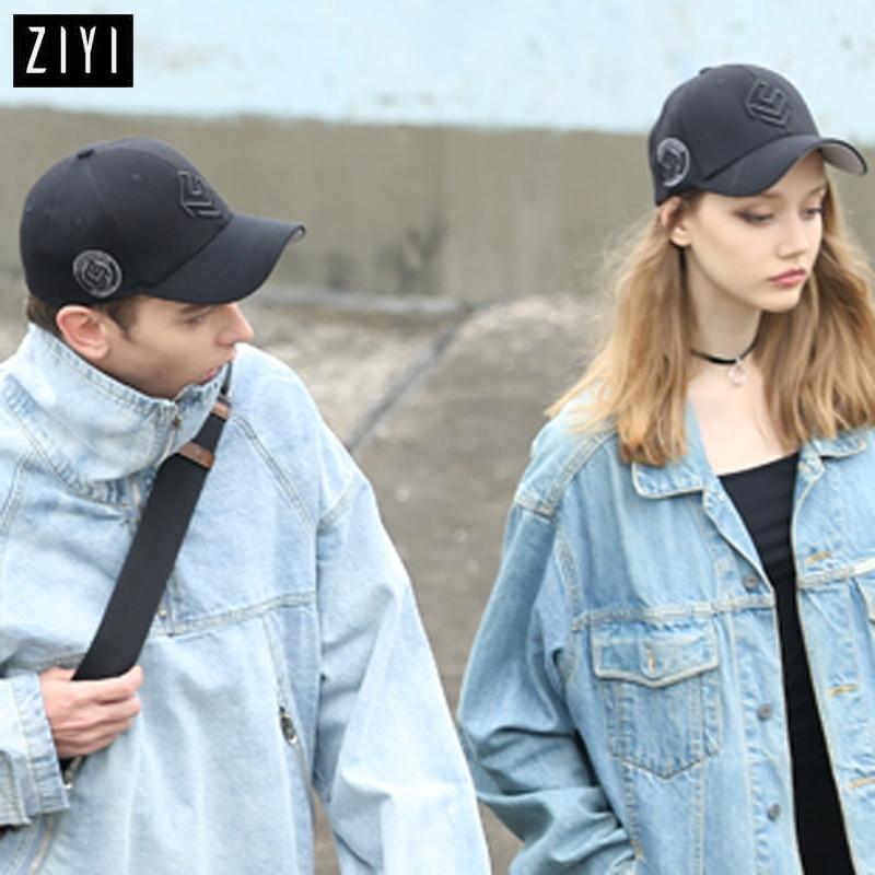 زوجين قبعات سوداء قبعة بيسبول النساء - ملابس واكسسوارات