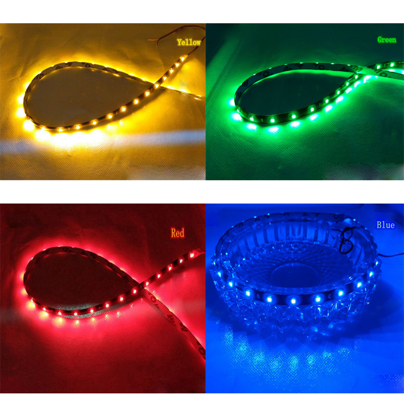 30cm 60cm 90cm 120cm waterproof led strip flexible lights dc12v smd