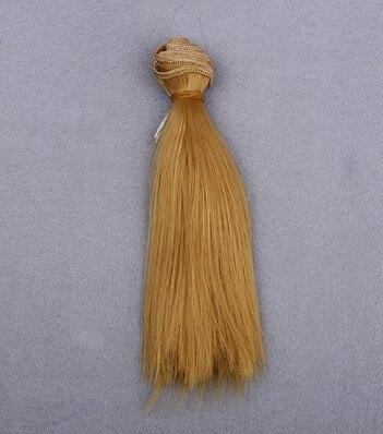 En gros Noir Marron Couleurs 15/25 * 100 cm BJD Dollfie Poupée DIY - Poupées et accessoires - Photo 5