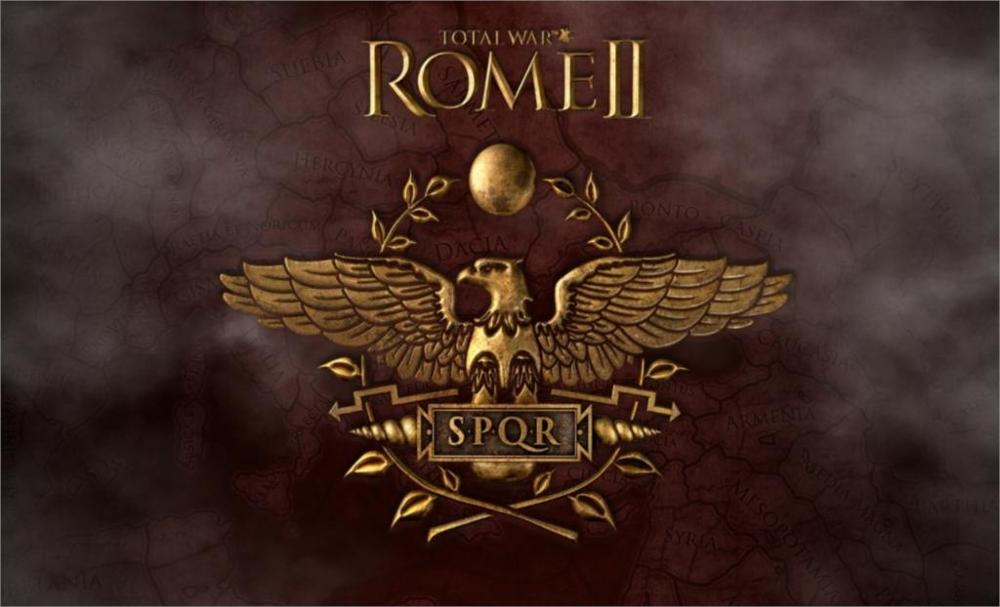 Living room home wall decoration fabric poster Total war rome 2 rome image