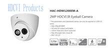 Бесплатная доставка dahua cctv 2-мегапиксельной 1080 P hdcvi ик eyeball камера smart ик ip67 без логотипа hac-hdw1200em-a