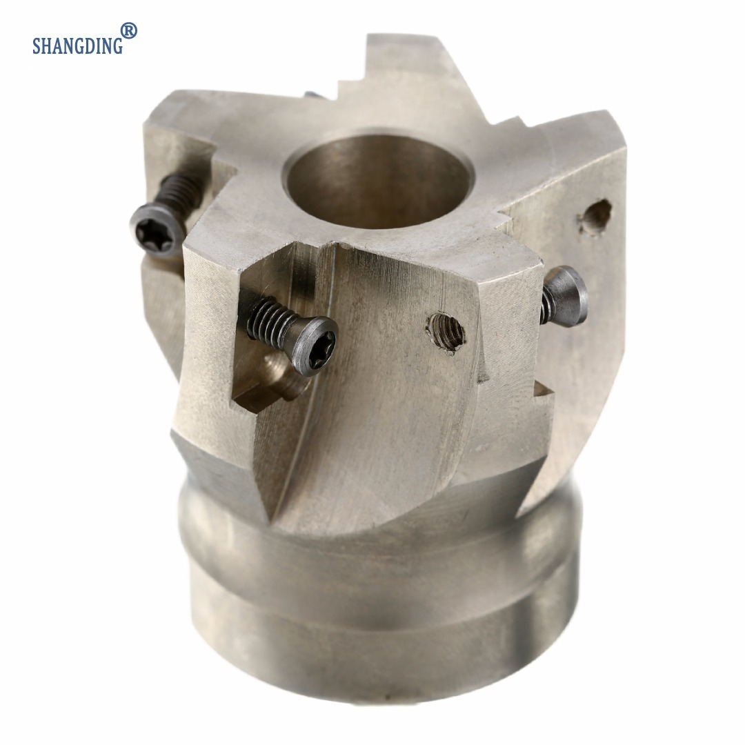 1pc Carbide Alloy BAP400R-50-22-4F Indexable Face Milling Cutter 50mm With T15 Wrench For APKT 1604 Inserts
