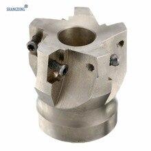 BAP400R 50 22 4F de aleación de carburo, fresa facial Indexable de 50mm con llave T15 para insertos APKT 1604, 1 ud.
