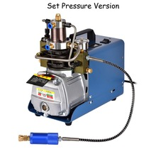 Electric 220v/110v High Pressure Air Pump Updated Version 30MPa 4500PSI Air Pump Compressor Rifle PCP Scuba Airgun pcp 30mpa electric air compressor pump high pressure system rifle