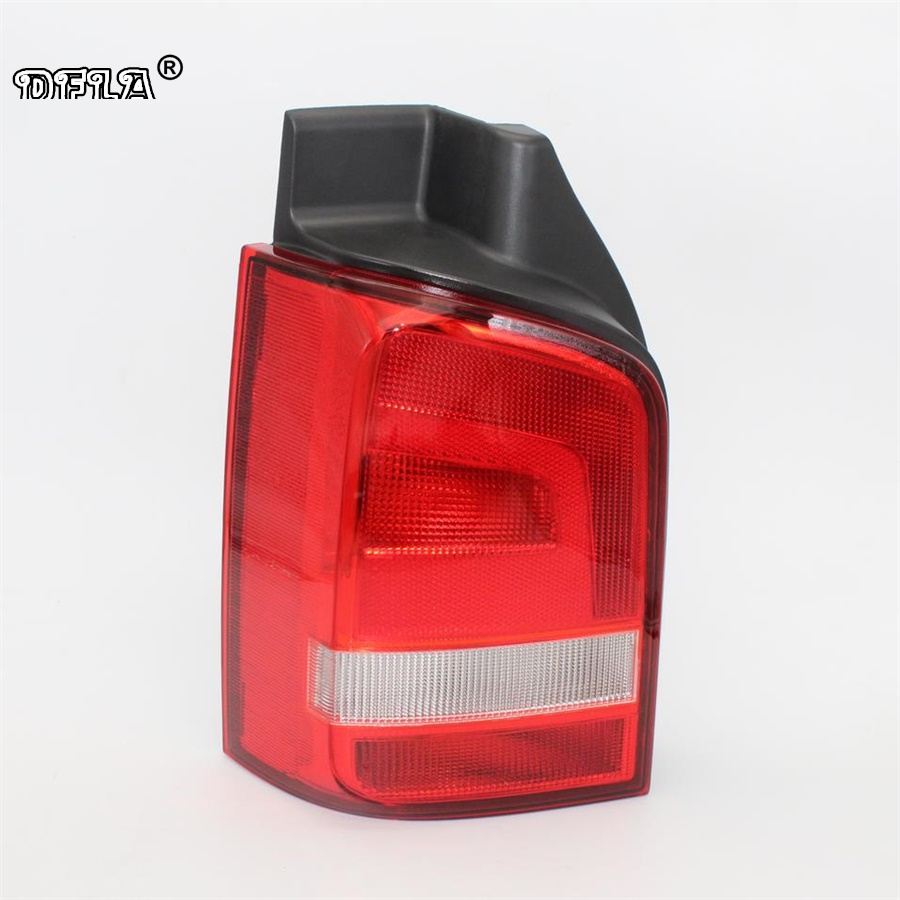 Rear Left Side For VW T5 T6 Multivan Transporter 2010 2011 2012 2013 2014 2015 Car-styling Rear Lamp Tail Light hot sale abs chromed front behind fog lamp cover 2pcs set car accessories for volkswagen vw tiguan 2010 2011 2012 2013