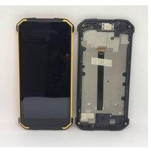 Para Blackview BV9500 9500 2160*1080 5.7 tela de Lcd Com Quadro + Tela de Toque Assembléia Digitzer Reparação Painel vidro