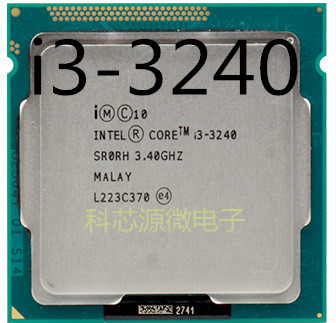PC computer Intel Core i3-3240 i3 3240 Processor (3M Cache, 3.40 GHz) LGA1155 Desktop CPU