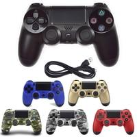 USB проводной блок управления, джойстик для sony PS4/PS3 игровой джойстик, управление для PlayStation4 консоли вибрации джойстика с кабелем