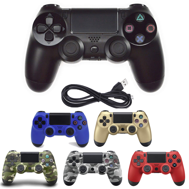 USB wired Controller Gamepad For Sony PS4/PS3 Game Joystick Controle For PlayStation4 Console Vibration Joypad With CableUSB wired Controller Gamepad For Sony PS4/PS3 Game Joystick Controle For PlayStation4 Console Vibration Joypad With Cable