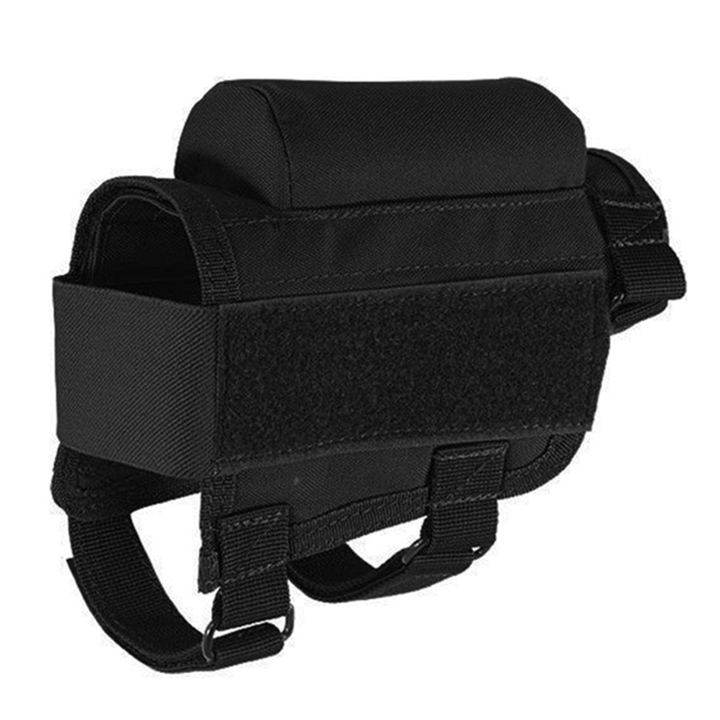 Portable Tactical Outdoor Hunting Bags Adjustable Rifle Cheek Rest Pouch Holder Case Round Cartridge Bag P15 ...