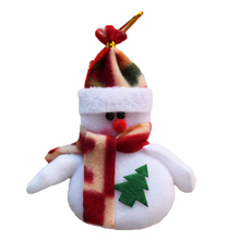 6pcs/lot Deer Snowman Pendant Chrismas Tree Christmas Gift Santa claus Christmas Decoration Supplies Arbol De Navidad SD15
