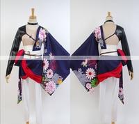 Hot Anime Vocaloid Hatsune Miku Kagame Lin Ren Uniform Cosplay Costume Kimono XS-XL Free Shipping