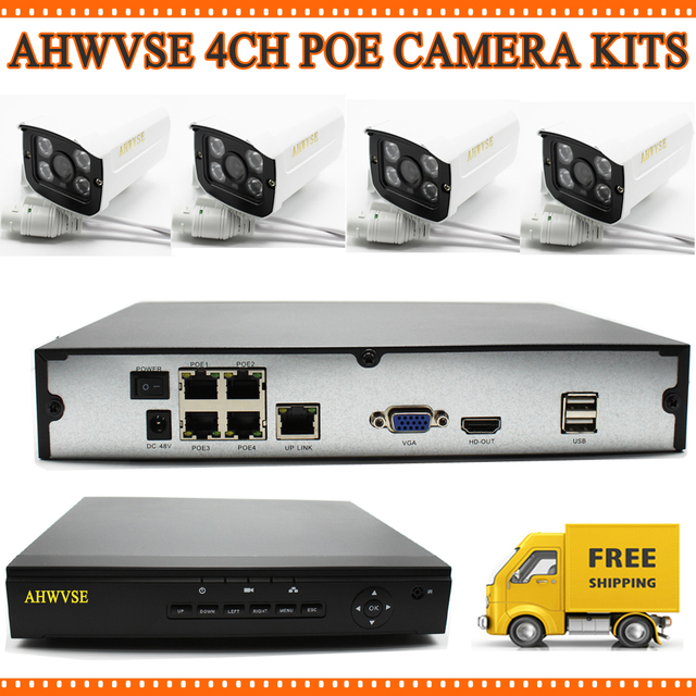 Aliexpress.com : Buy Home Surveillance System 4CH IP Security ...