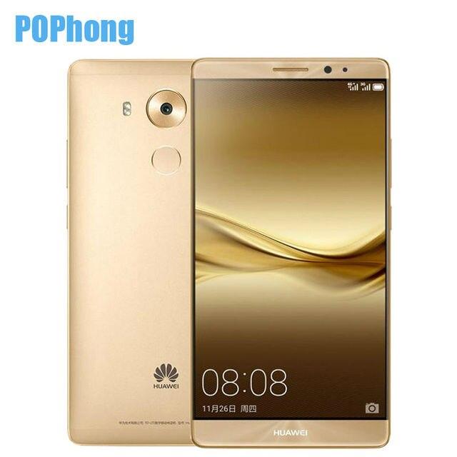 HUAWEI MATE 8 NFC Fingerprint 6 inch Mobile Phone 4GB RAM 64GB ROM Octa Core Kirin 950 LTE Dual SIM