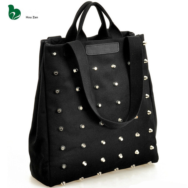 6 pcs Canvas Shoulder Tote Bag Women Messenger Bag Ladies Handbags Bolsa  Feminina Bolsas Bolsos Mujer 8eb8b87ed6a4b