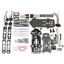 Alta Calidad Eachine Racer 250 Kit DIY CC3D Naze32 w/600 MW 5.8G 32CH transmisor Construido en OSD Cámara de ALTA DEFINICIÓN Para Multicopter de Parte