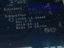 Erhältlich + arbeits kostenloser versand zso50 la-a994p rev: 2,0 laptop motherboard für hp 15-r 15t-r 250 g3 notebook pc