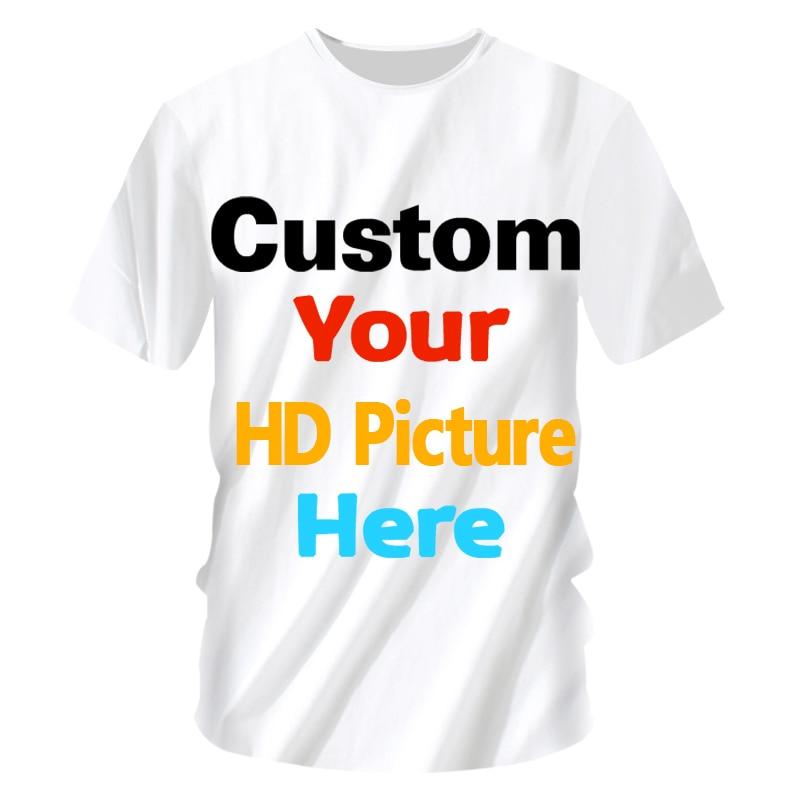 Women Men Custom T Shirt