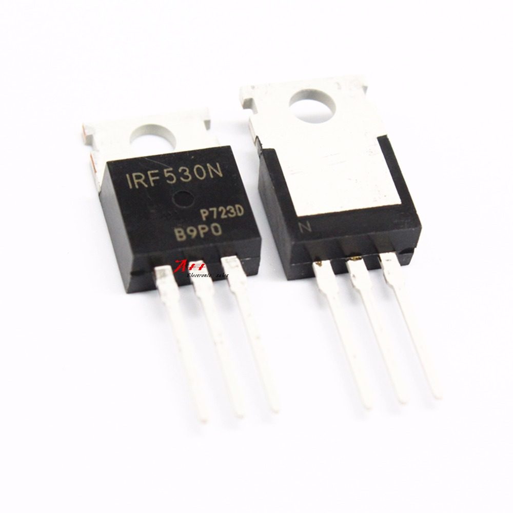 Transistor 10pcs Irf530npbf Irf530n Irf530 To 220 In Integrated Ams1117 33v 1a Voltage Regulator Electrodragon Circuits From Electronic Components Supplies On Alibaba Group