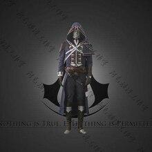 Аниме! Assassin's Creed: unity Арно Виктор Дориан форма Косплэй костюм на заказ Размеры топ + Штаны + закрытые туфли бесплатная доставка