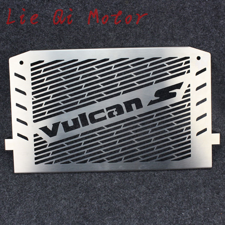 Free Shipping Stainless Steel Radiator Guard Cover Grill Protector Fit For Kawasaki VULCAN S 2015-2016 VULCAN 650 VN650 15-16 stainless steel radiator frame grill grille cover for kawasaki vulcan vn 1500 1700