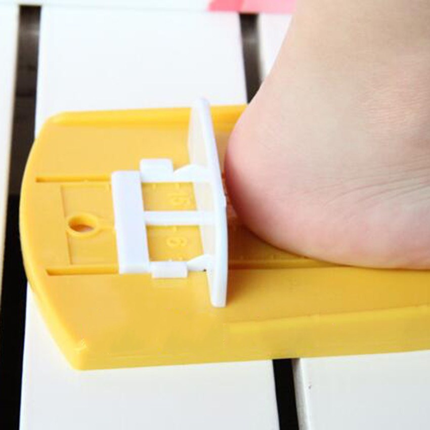 Infant-Toddler-Baby-Kid-Feet-Length-Growing-Measuring-Ruler-Subscript-Foot-Tool-Protractor-Scale -