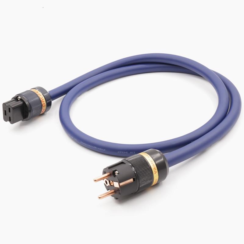 Hi-End OFC Copper EU Standard Power Cable With 20A IEC Female Power Plug цена и фото
