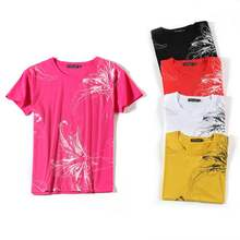 New! Hot selling 25 Printing T Shirt Women 2019 Summer T-Shirt Cute Girls Tshirt Female Basic Short Sleeve Top Tee Shirts D326