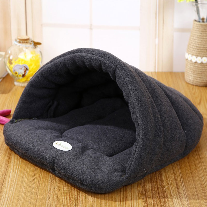 Winter Warme Hausschuhe Stil Hundebett Haustier Hund Haus Schönen Weichen geeignet Katze Hundebett Haus für Haustiere Kissen Hohe Qualität Produkte