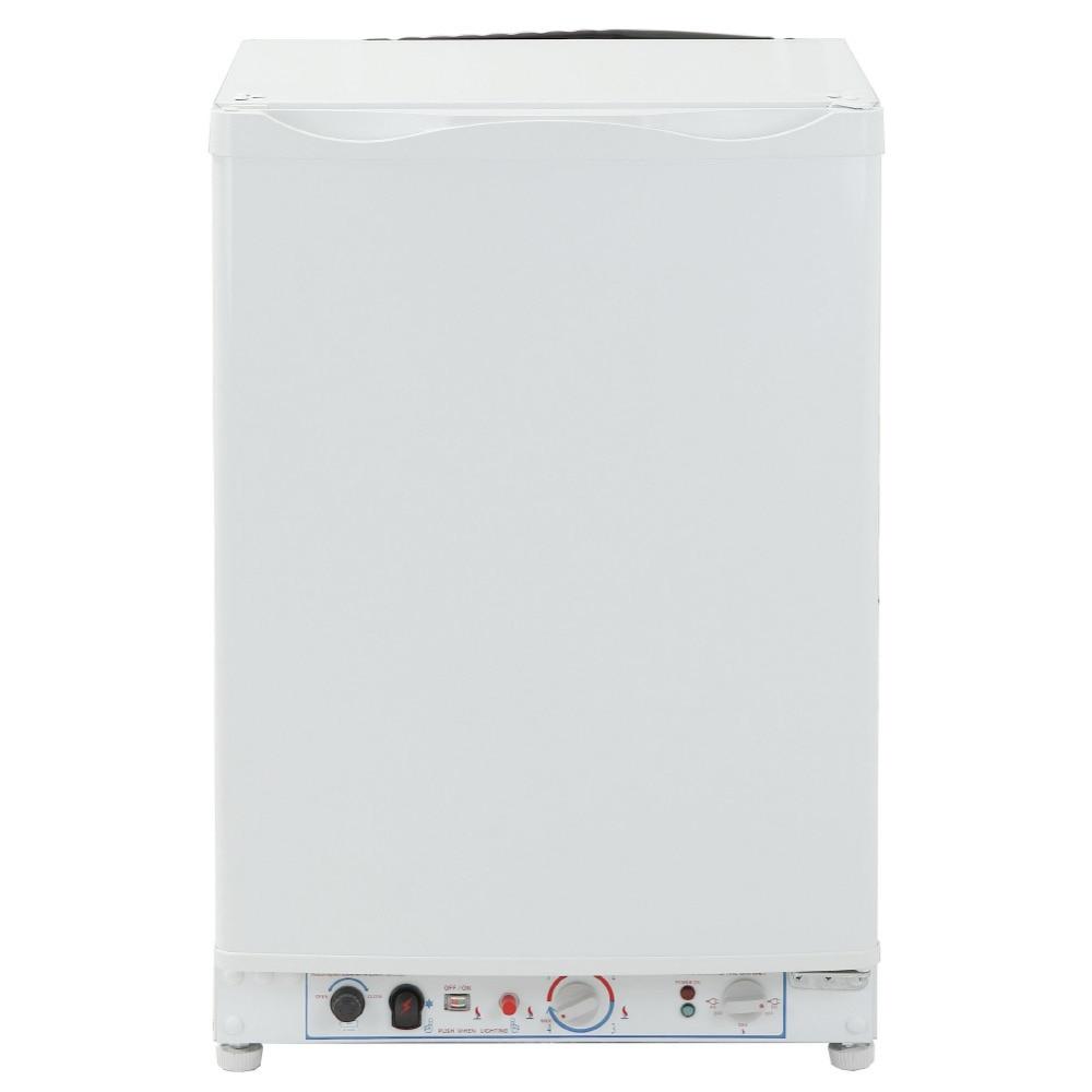 Smad 95L 110V/240V 12V Absorption Electric LPG Gas Refrigerator Low Noise Mini Portable Propane Fridge Freezer for Hotel Dorm