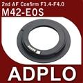Pixco segunda AF Traje Adaptador Confirmar Para M42 Carl Zeiss Ajustable para Canon 600D 60D T3i 5D Mark II 7D 40D 50D cámara
