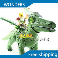 The electric pterosaurs light and sound simulation wings dinosaurs Blue cat ride on the dinosaur electronic toys