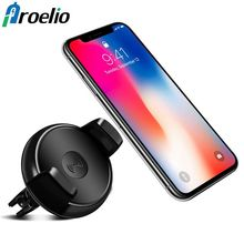 360 Degree Rotation Standard Phone Car Charger Qi Wireless Charger Wireless Charging Pad Car Holder Stand For iPhone Samsung S8