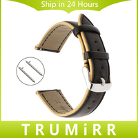 France Genuine Leather Watchband Double Color For Huawei Watch 2 Classic Ticwatch 1 46mm Amazfit Quick