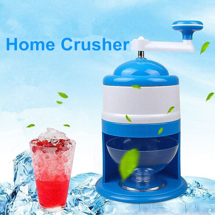 Home handle portable ice machine ABS manual smoothies ice crusher snowflake rotating handle ice breaking mini ice shaver оплетка руля кожа разные цвета для haval m6 2018 2019
