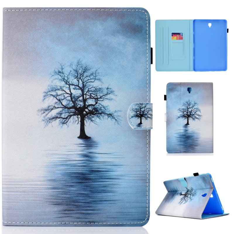 Case For Samsung Galaxy Tab S4 10.5 T830 T835 SM-T830 Case PU Leather Stand Smart Cover For Samsung Galaxy Tab S4 T830 10.5 Inch
