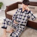 Bathrobe Men  Pijama Men Pajama Sets  Winter Sleepwear  317
