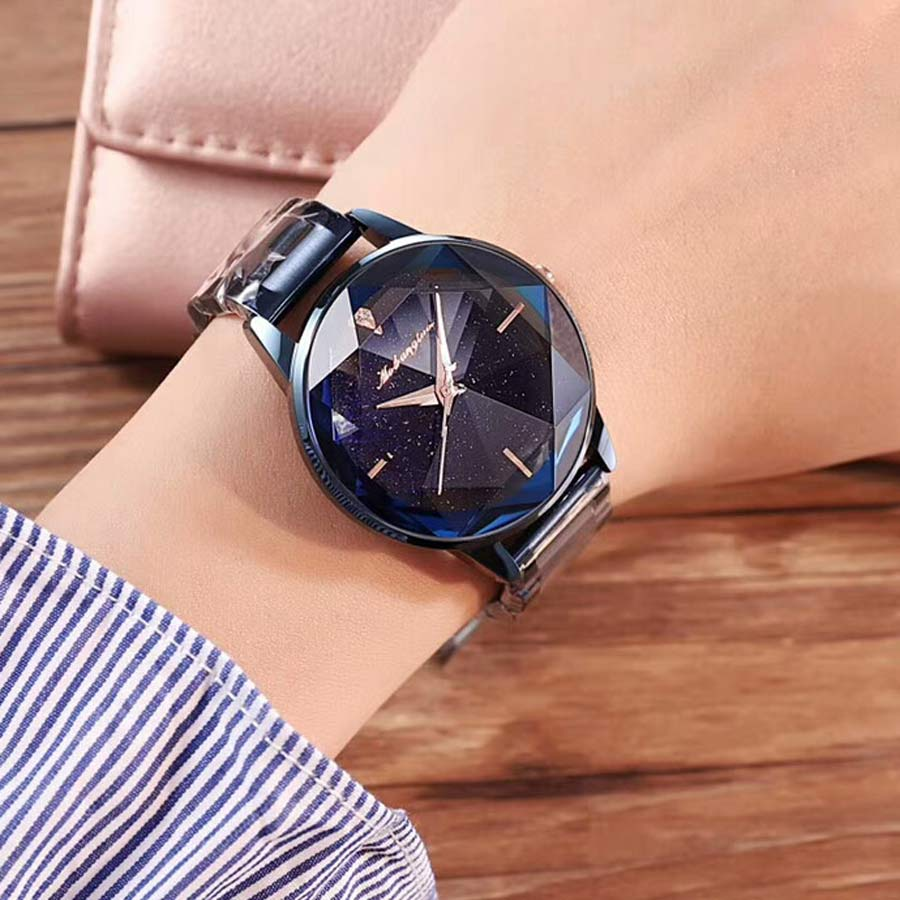 2018 New Fashion Womens Watches Top Brand Luxury Starry Sky Watch Quartz Women Watches Waterproof Ladies Watch Relojes De Mujer
