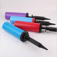1 PCS Plastic Hand Held Ball Party Balloon Inflator pump for Air Pump Portable Useful Decoration Tools