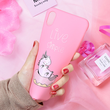 Cute Unicorn Animal Phone Case N. 6 For iPhone 7 8 Cases For iPhone X XS MAX Back Cover Silicone Coque Case For iPhone 6 S 6S 7