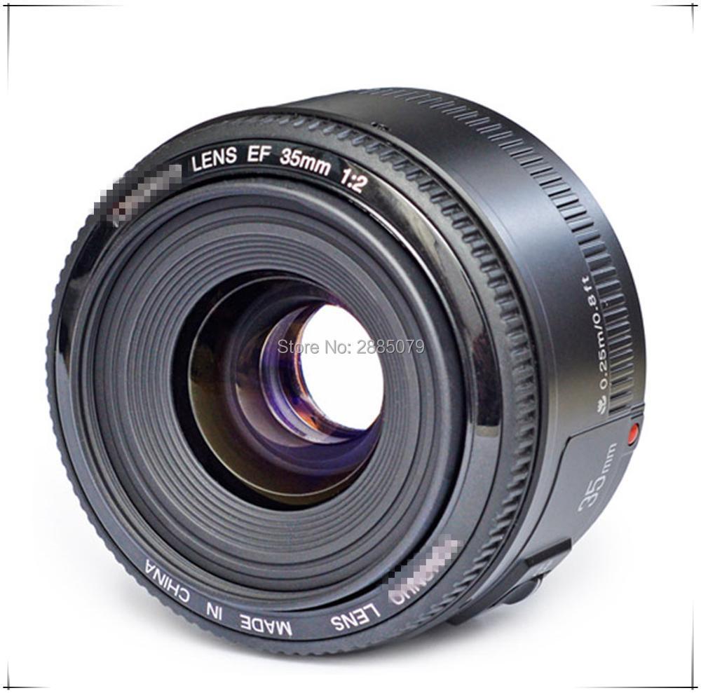 Objectif 35mm pour YN35mm F2.0 AF/MF objectif fixe F1.8 AF/EF pour Nikon F Mount D3200 D3400 D3100 D5300 pour appareil photo DLSR Canon